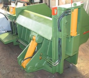 Baler Idromec PN1800 for scrap and metals