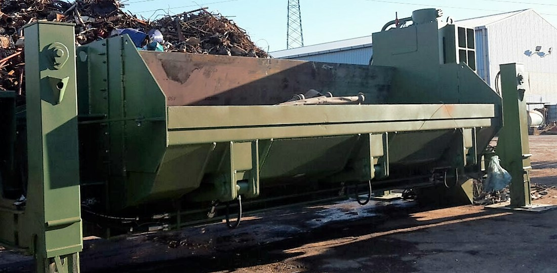 shear-baler Idromec T506SLK for metals and scrap