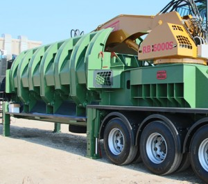 Balers Idromec RB5000 on trailer