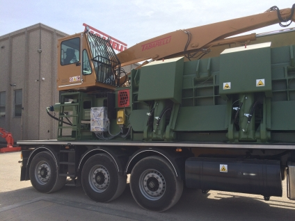 Balers Idromec RB5000 for scrap metals and junk car