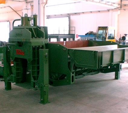 Shear balers Idromec T500CLS mobile