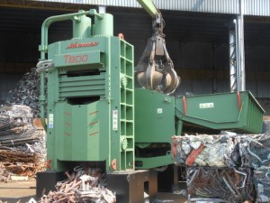 Shear-balers Idromec C for scrap