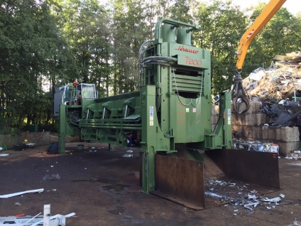 Shear Balers Idromec T800CLS for scrap and metals