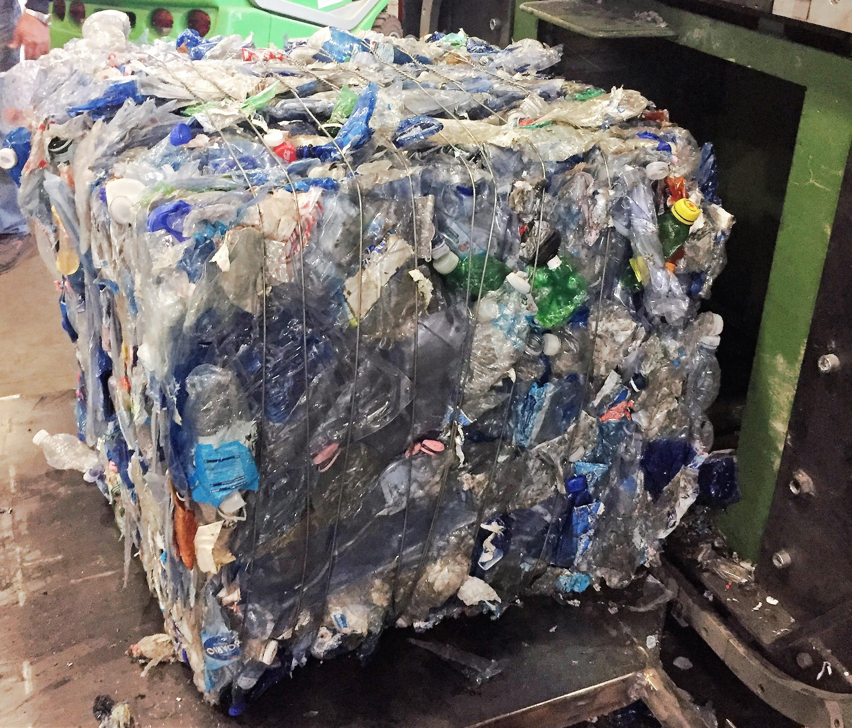 pressa per rifiuti multimateriale scarrabile Idromec PR27